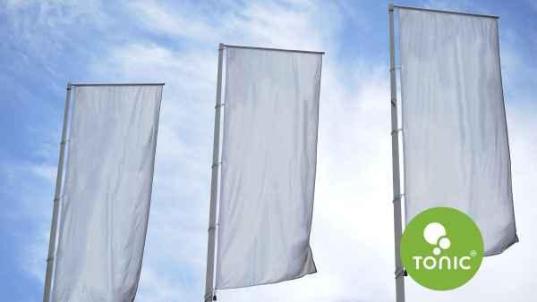 Zászló nyomtatás illusztráció